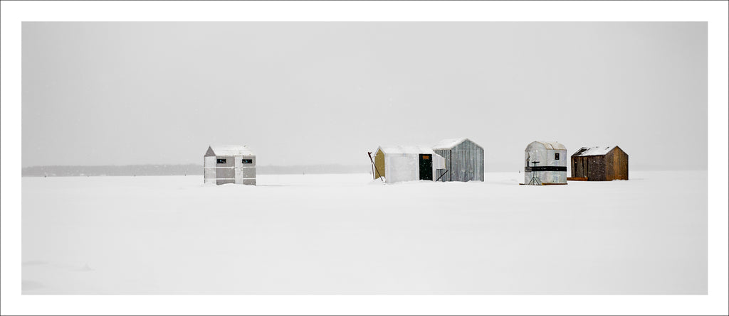 Ice Village # 35, Georgina, Lake Simcoe, Ontario, Canada, 2012