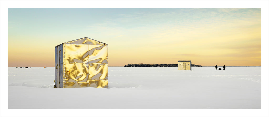 Ice Village # 37, Bon Secours Beach, Fox Island, Lake Simcoe, Ontario, 2014 | © 2007-2016 Richard Johnson Photography Inc. | richardjohnsongallery.com