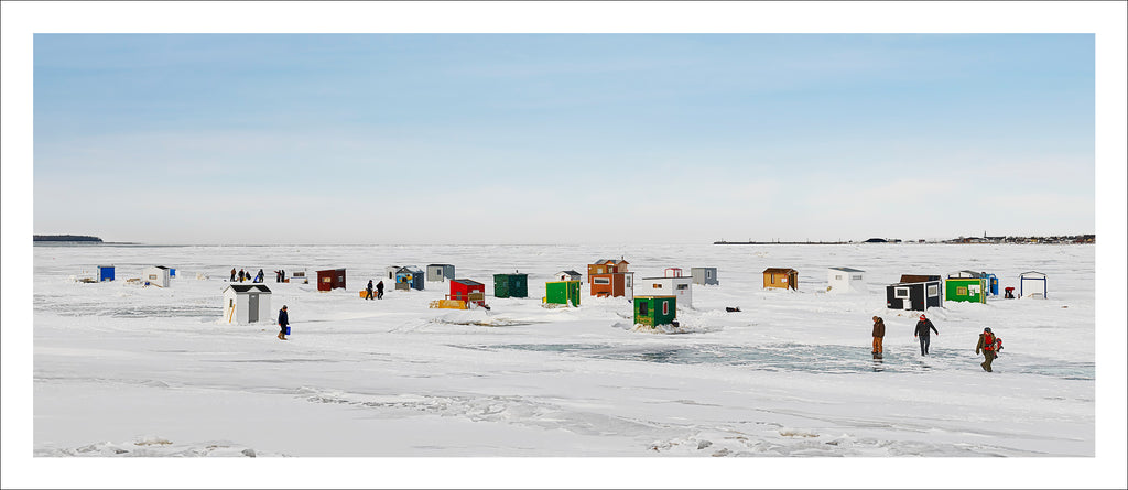 Ice Village # 45, Rimouski, Fleuve Saint-Laurent, Quebec, Canada, 2013 | Limited Edition Archival Photograph | © 2007-2016 Richard Johnson Photography Inc. | richardjohnsongallery.com