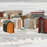 Ice Village # 47, Renforth, Kennebecasis River, New Brunswick, Canada, 2013