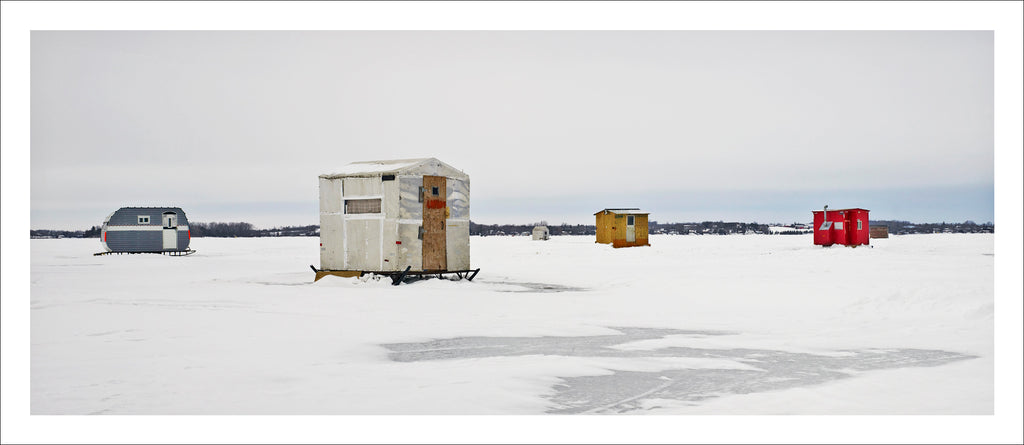 Ice Village # 61, Scugog Point, Lake Scugog, Ontario, Canada, 2015 | © 2007-2016 Richard Johnson Photography Inc. | richardjohnsongallery.com