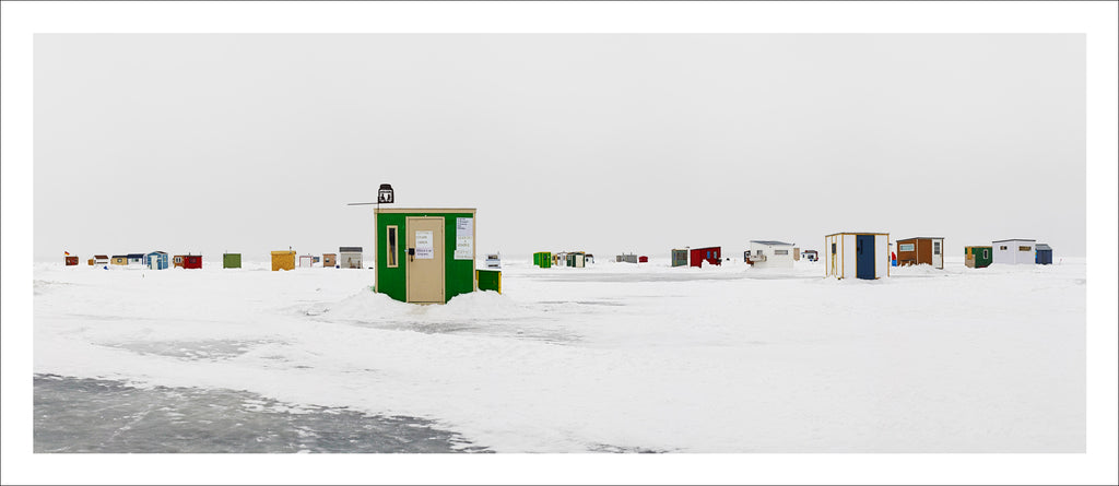 Ice Village # 67, Magasin Général, Rimouski, Fleuve Saint-Laurent, Quebec, Canada, 2015 | © 2007-2016 Richard Johnson Photography Inc. | richardjohnsongallery.com