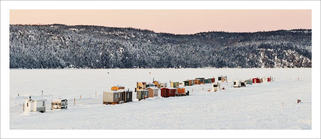 Ice Village # 221, La Baie Des Ha! Ha!, Saguenay River, Quebec, Canada, 2017 | © 2007-2016 Richard Johnson Photography Inc. | richardjohnsongallery.com