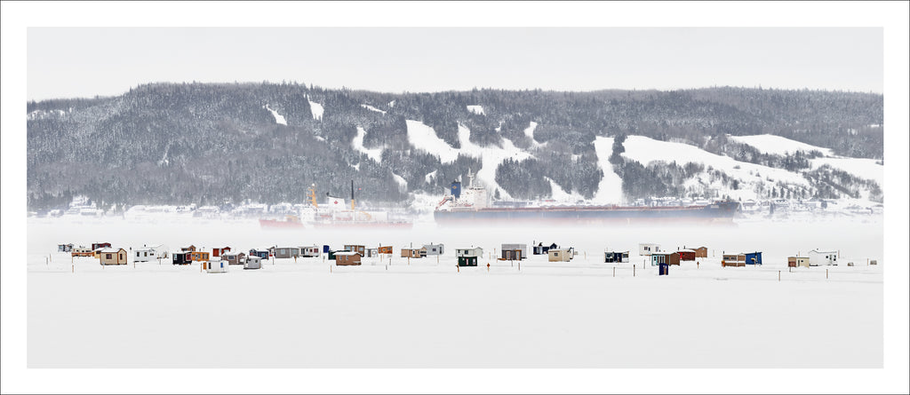 Ice Village # 235, La Baie Des Ha! Ha!, Saguenay River, Quebec, Canada, 2017 | © 2007-2016 Richard Johnson Photography Inc. | richardjohnsongallery.com