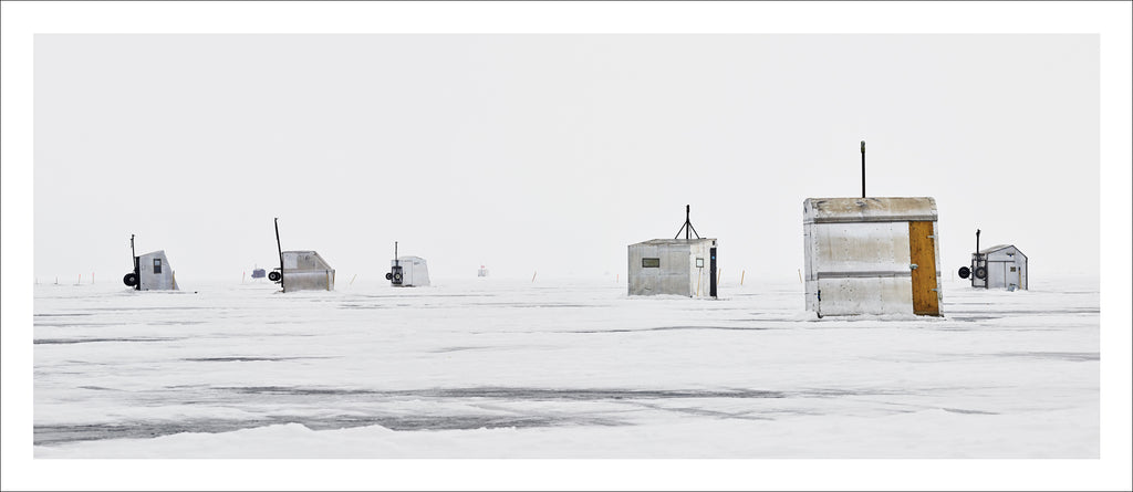 Ice Village # 261, Neenah, Lake Winnebago, Wisconsin, USA, 2018 |© 2007-2018 Richard Johnson Photography Inc. | richardjohnsongallery.com