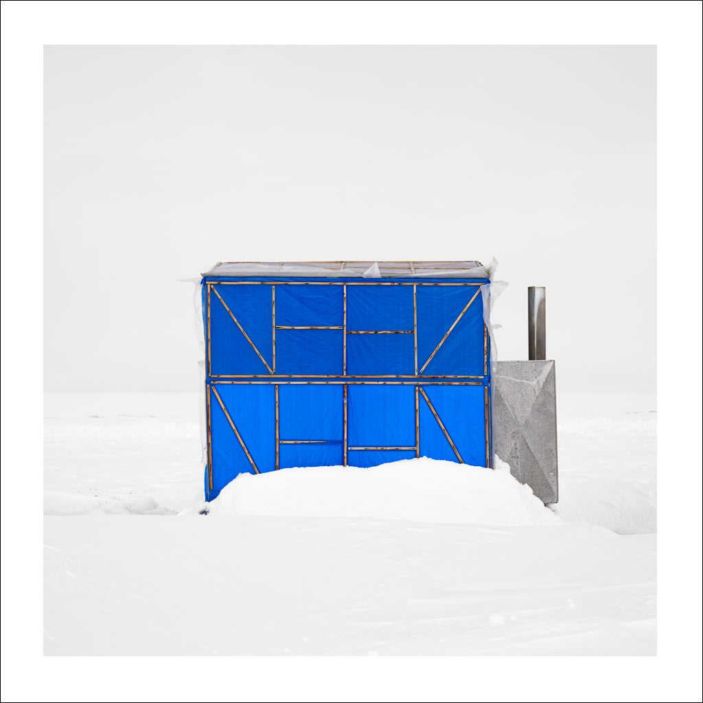 Ice Hut # 422-c, Riverton, Lake Winnipeg, Manitoba, Canada, 2010 | © 2007-2016 Richard Johnson Photography Inc. | richardjohnsongallery.com