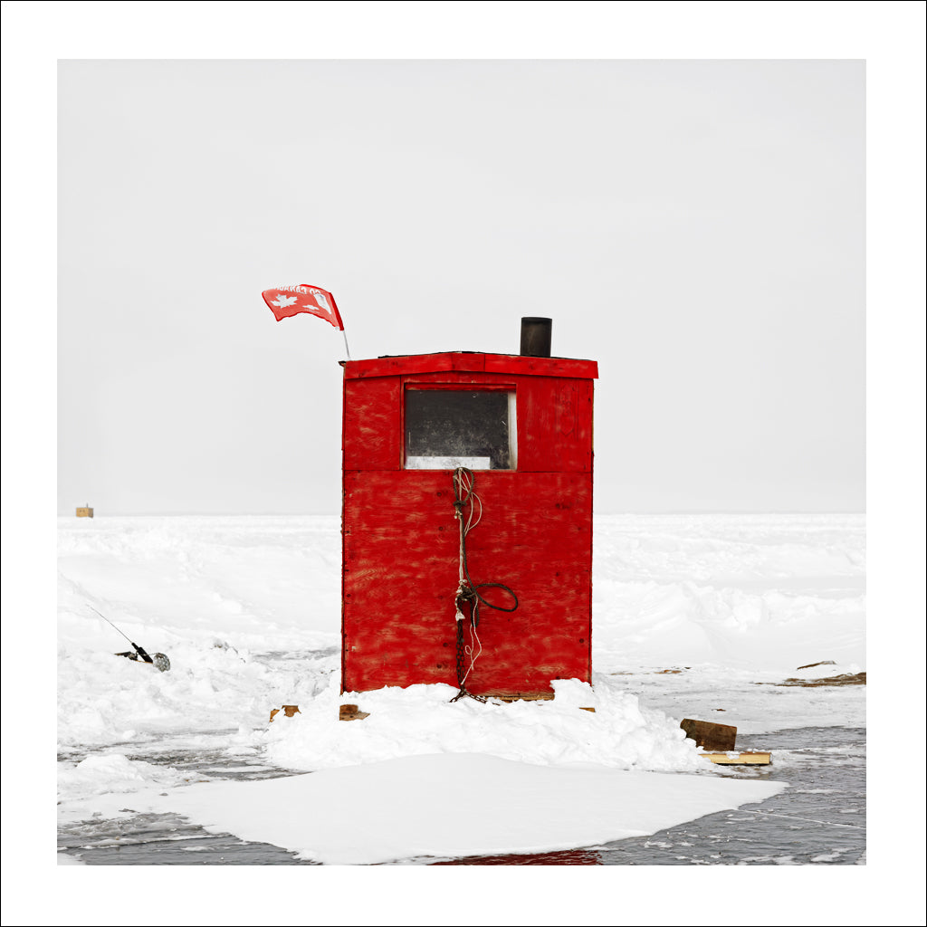 Ice Hut #426, Riverton, Lake Winnipeg, Manitoba, Canada, 2010 | © 2007-2016 Richard Johnson Photography Inc. | richardjohnsongallery.com