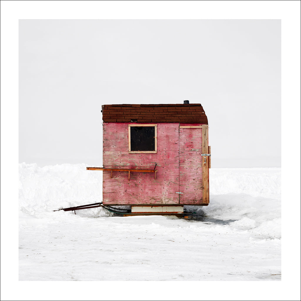 Ice Hut #427-a, Riverton, Lake Winnipeg, Manitoba, Canada, 2010 | © 2007-2016 Richard Johnson Photography Inc. | richardjohnsongallery.com
