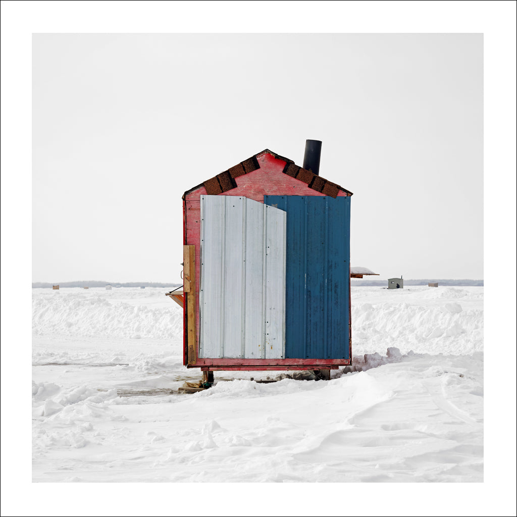 Ice Hut #427, Riverton, Lake Winnipeg, Manitoba, Canada, 2010 | © 2007-2016 Richard Johnson Photography Inc. | richardjohnsongallery.com