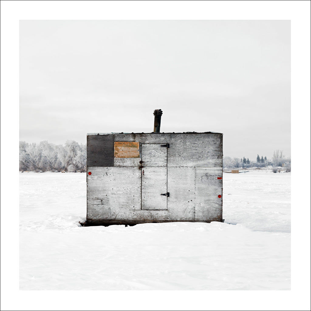 Ice Hut # 455, Selkirk, Red River, Manitoba, Canada, 2010 | © 2007-2016 Richard Johnson Photography Inc. | richardjohnsongallery.com