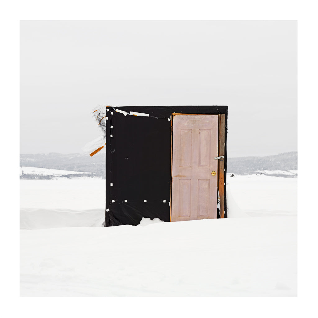 Ice Hut # 566, McLeods, Chaleur Bay, New Brunswick, Canada, 2012 | © 2007-2016 Richard Johnson Photography Inc. | richardjohnsongallery.com