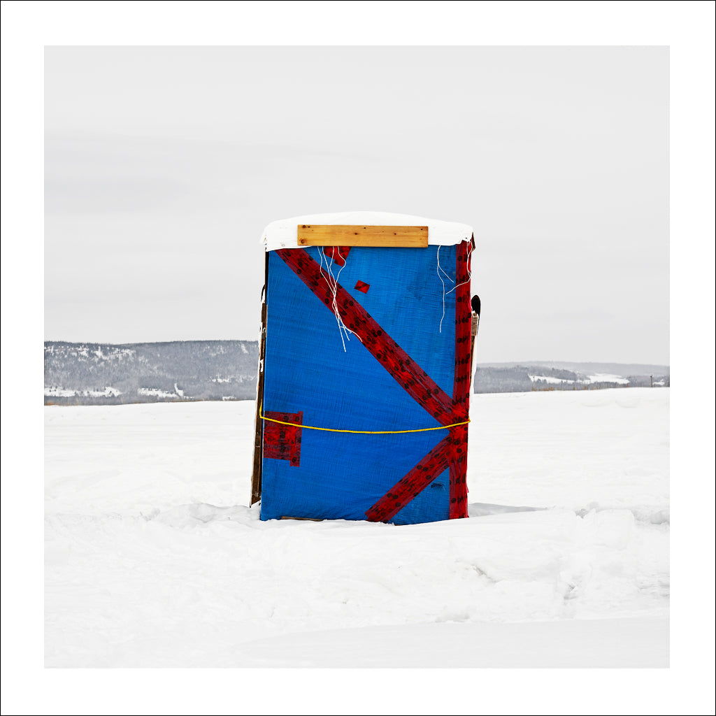 Ice Hut # 588, Dalhousie, Chaleur Bay, New Brunswick, Canada, 2012