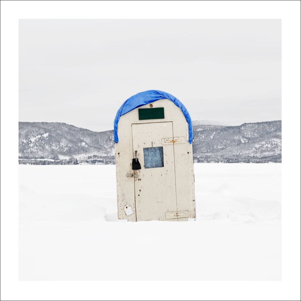 Ice Hut # 592, McLeods, Chaleur Bay, New Brunswick, Canada, 2012 | © 2007-2016 Richard Johnson Photography Inc. | richardjohnsongallery.com