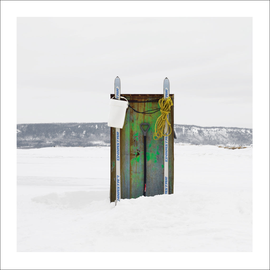 Ice Hut # 741, Dalhousie, Chaleur Bay, New Brunswick, Canada, 2015 | © 2007-2016 Richard Johnson Photography Inc. | richardjohnsongallery.com