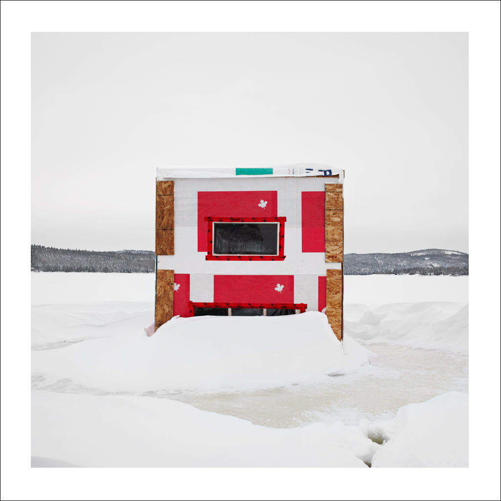 Ice Hut # 743, Rothesay, Kennebecasis River, New Brunswick, Canada, 2015 | © 2007-2016 Richard Johnson Photography Inc. | richardjohnsongallery.com