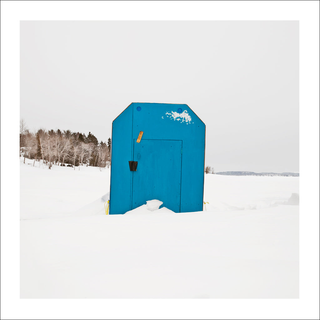 Ice Hut # 747, Rothesay, Kennebecasis River, New Brunswick, Canada, 2015 | © 2007-2016 Richard Johnson Photography Inc. | richardjohnsongallery.com
