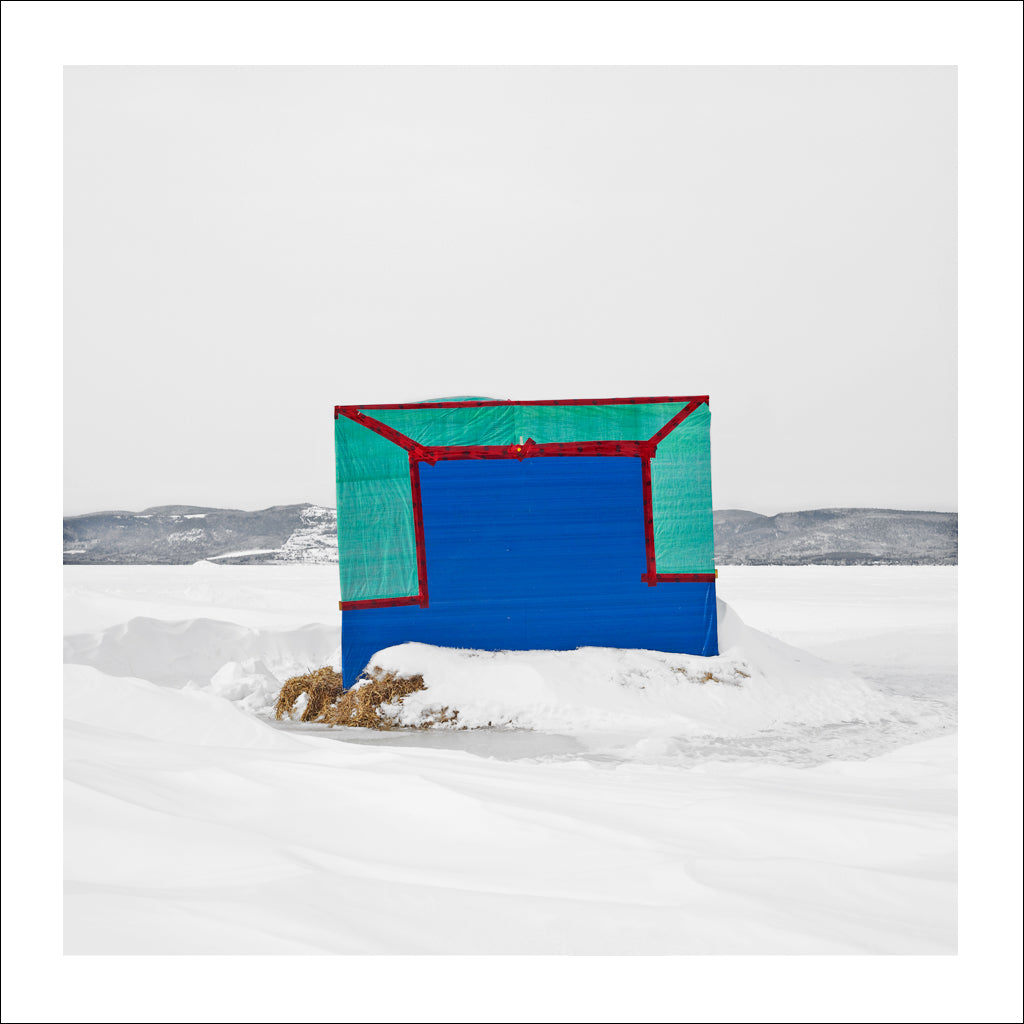 Ice Hut # 765, McLeods, Chaleur Bay, New Brunswick, Canada, 2015 | © 2007-2016 Richard Johnson Photography Inc. | richardjohnsongallery.com