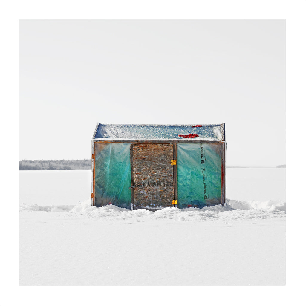 Ice Hut # 677, Buckwheat Corner, Bras d'Or Lake, Cape Breton, Nova Scotia, Canada, 2014 | Limited Edition Archival Photograph | © 2007-2016 Richard Johnson Photography Inc. | richardjohnsongallery.com