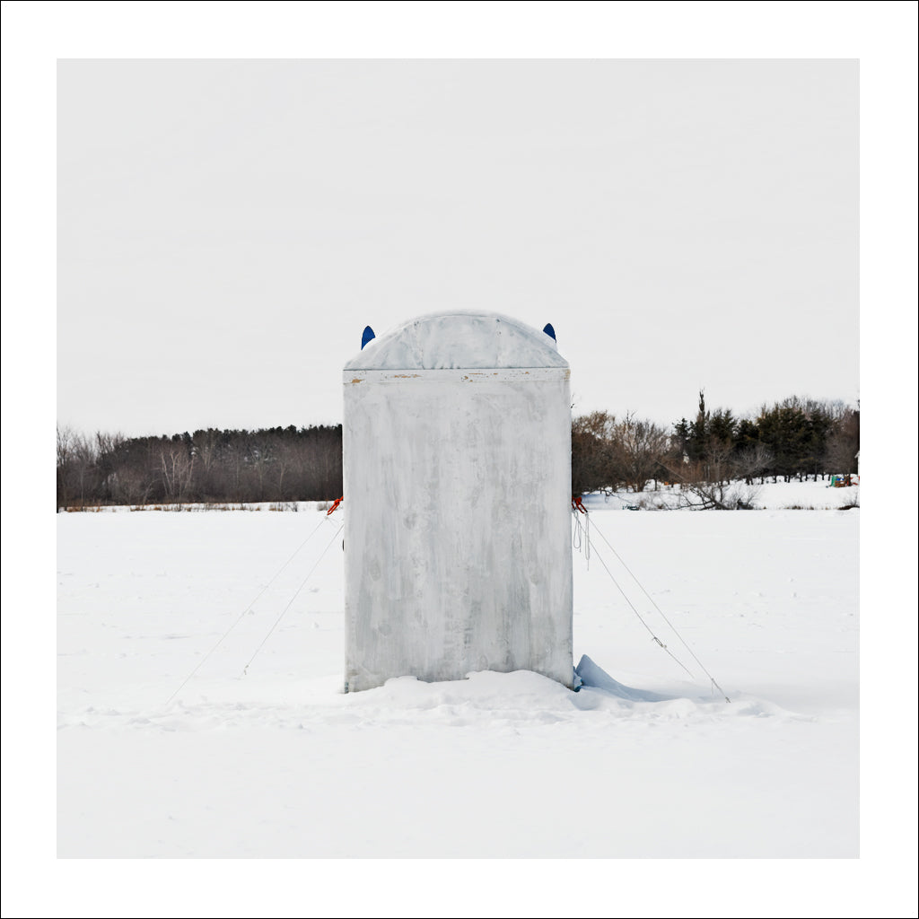 Ice Hut # 680-a, Silver Lake, Nova Scotia, Canada, 2014 | Limited Edition Archival Photograph | © 2007-2016 Richard Johnson Photography Inc. | richardjohnsongallery.com