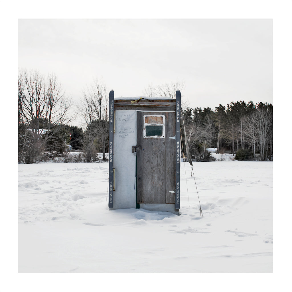 Ice Hut # 681, Silver Lake, Nova Scotia, Canada, 2014 | Limited Edition Archival Photograph | © 2007-2016 Richard Johnson Photography Inc. | richardjohnsongallery.com