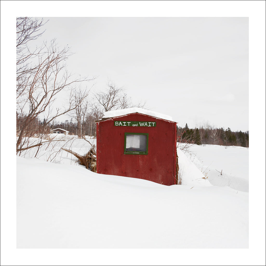 Ice Hut # 762, Buckwheat Corner, Bras d'Or Lake, Cape Breton, Nova Scotia, Canada, 2015 | Limited Edition Archival Photograph | © 2007-2016 Richard Johnson Photography Inc. | richardjohnsongallery.com