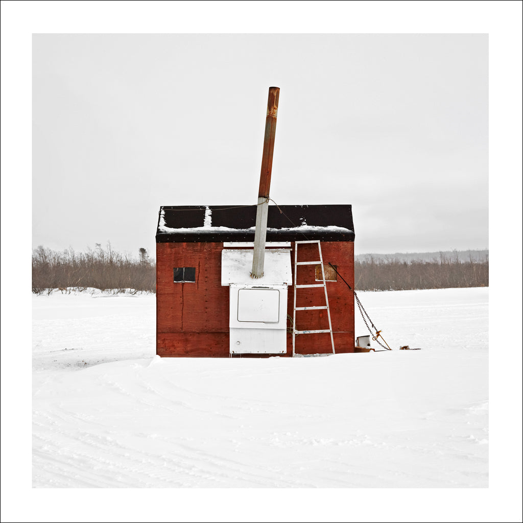 Ice Hut # 665, Deer Lake, Newfoundland, Canada, 2014 | © 2007-2016 Richard Johnson Photography Inc. | richardjohnsongallery.com