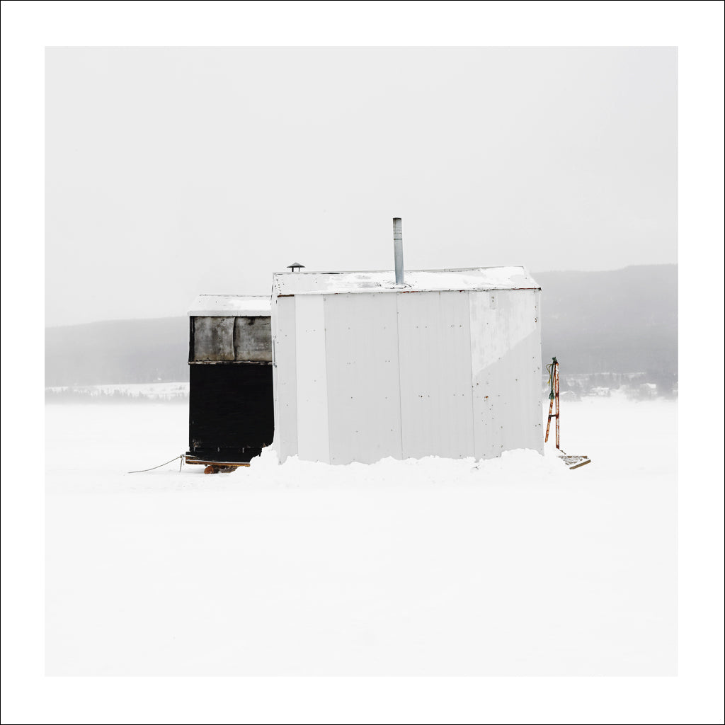 Ice Hut # 668, Deer Lake, Newfoundland, Canada, 2014 | © 2007-2016 Richard Johnson Photography Inc. | richardjohnsongallery.com