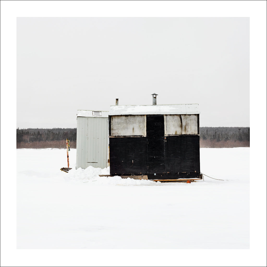 Ice Hut # 669, Deer Lake, Newfoundland, Canada, 2014 | © 2007-2016 Richard Johnson Photography Inc. | richardjohnsongallery.com