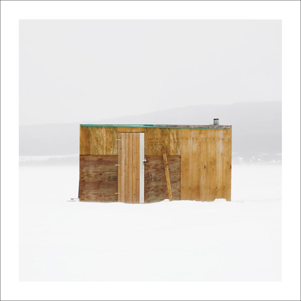 Ice Hut # 672, Deer Lake, Newfoundland, Canada, 2014 | © 2007-2016 Richard Johnson Photography Inc. | richardjohnsongallery.com