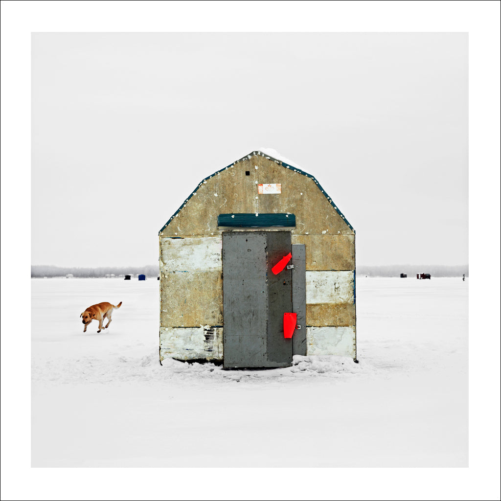 Ice Hut # 5, Virginia, Lake Simcoe, Ontario, Canada, 2007 | © 2007-2016 Richard Johnson Photography Inc. | richardjohnsongallery.com