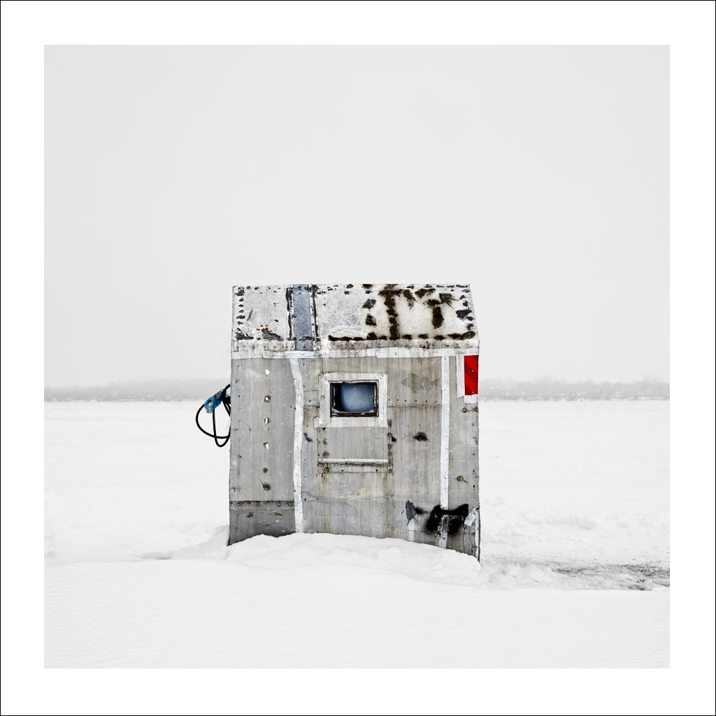 Ice Hut # 20, Gilford, Lake Simcoe, Ontario, Canada, 2007 | © 2007-2016 Richard Johnson Photography Inc. | richardjohnsongallery.com
