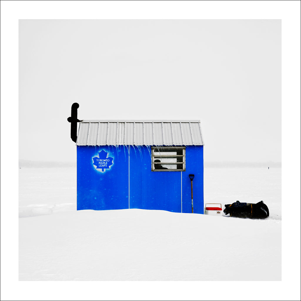 Ice Hut # 22, Gilford, Lake Simcoe, Ontario, Canada, 2007 | © 2007-2016 Richard Johnson Photography Inc. | richardjohnsongallery.com
