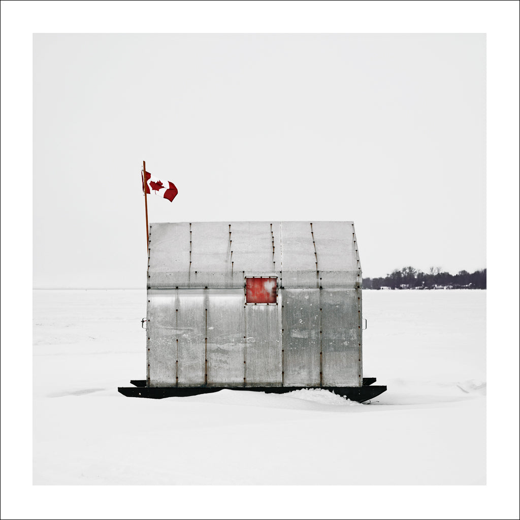 Ice Hut # 98, Virginia, Lake Simcoe, Ontario, Canada, 2008 | © 2007-2016 Richard Johnson Photography Inc. | richardjohnsongallery.com