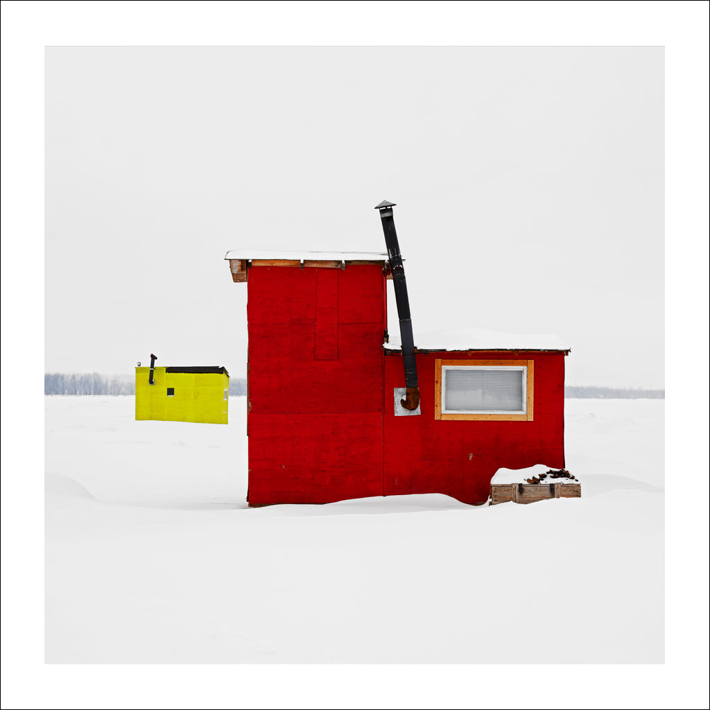 Ice Hut # 159, Petrie Island, Orléans, Ontario, Canada, 2008 | © 2007-2016 Richard Johnson Photography Inc. | richardjohnsongallery.com