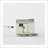 Ice Hut # 180, Beaverton, Lake Simcoe, Ontario, Canada, 2008 | © 2007-2016 Richard Johnson Photography Inc. | richardjohnsongallery.com
