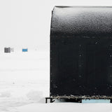 Ice Hut # 189, Beaverton, Lake Simcoe, Ontario, Canada, 2009