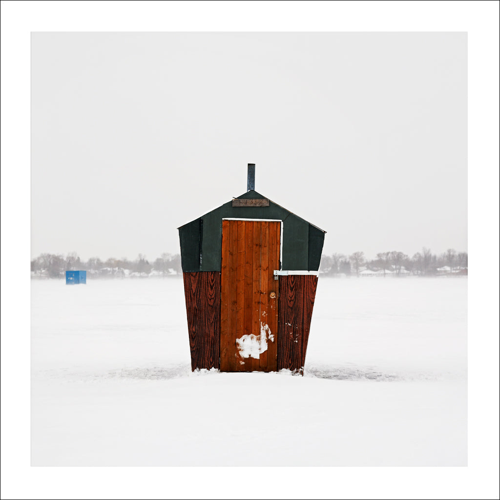 Ice Hut # 219, Killarney Beach, Lake Simcoe, Ontario, Canada, 2009 | © 2007-2016 Richard Johnson Photography Inc. | richardjohnsongallery.com