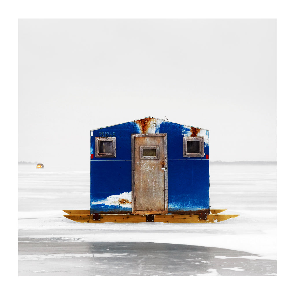 Ice Hut # 243, Lake Scugog, Ontario, Canada, 2010 | © 2007-2016 Richard Johnson Photography Inc. | richardjohnsongallery.com