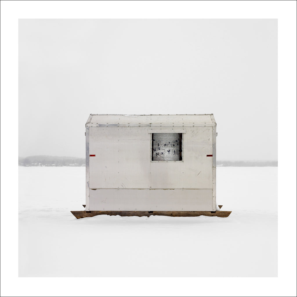 Ice Hut # 470, Scugog Point, Lake Scugog, Ontario, Canada, 2011 | © 2007-2016 Richard Johnson Photography Inc. | richardjohnsongallery.com