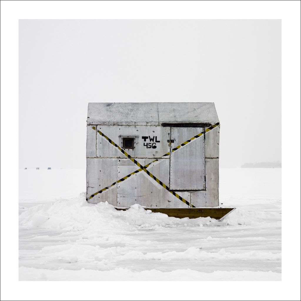 Ice Hut # 471, Scugog Point, Lake Scugog, Ontario, Canada, 2011 | © 2007-2016 Richard Johnson Photography Inc. | richardjohnsongallery.com
