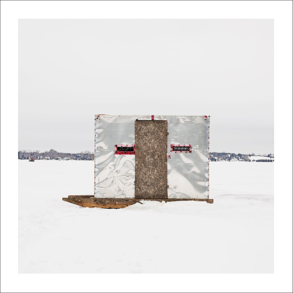 Ice Hut # 710, Scugog Point, Lake Scugog, Ontario, Canada, 2015 | © 2007-2016 Richard Johnson Photography Inc. | richardjohnsongallery.com