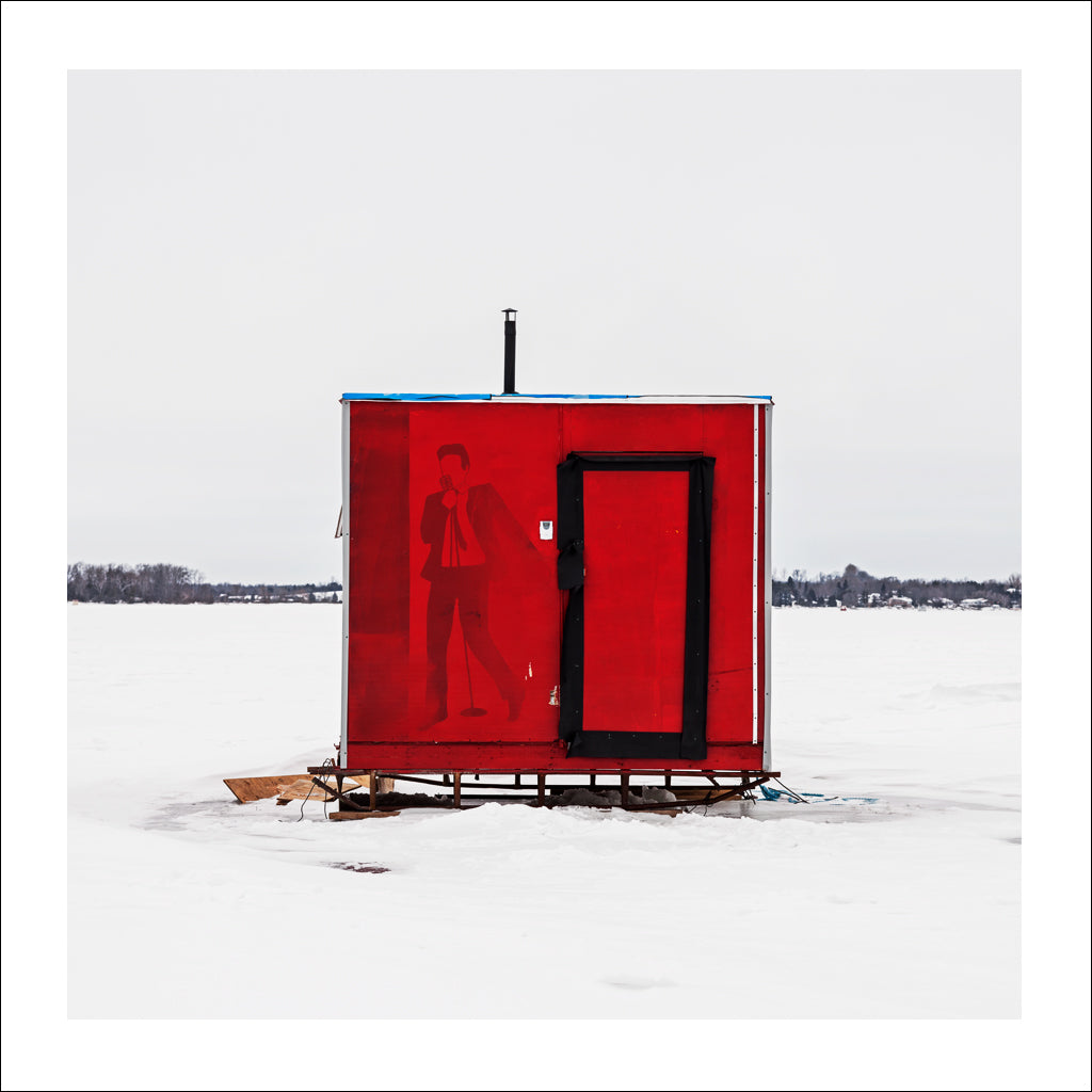 Ice Hut # 711, Scugog Point, Lake Scugog, Ontario, Canada, 2015 | © 2007-2016 Richard Johnson Photography Inc. | richardjohnsongallery.com