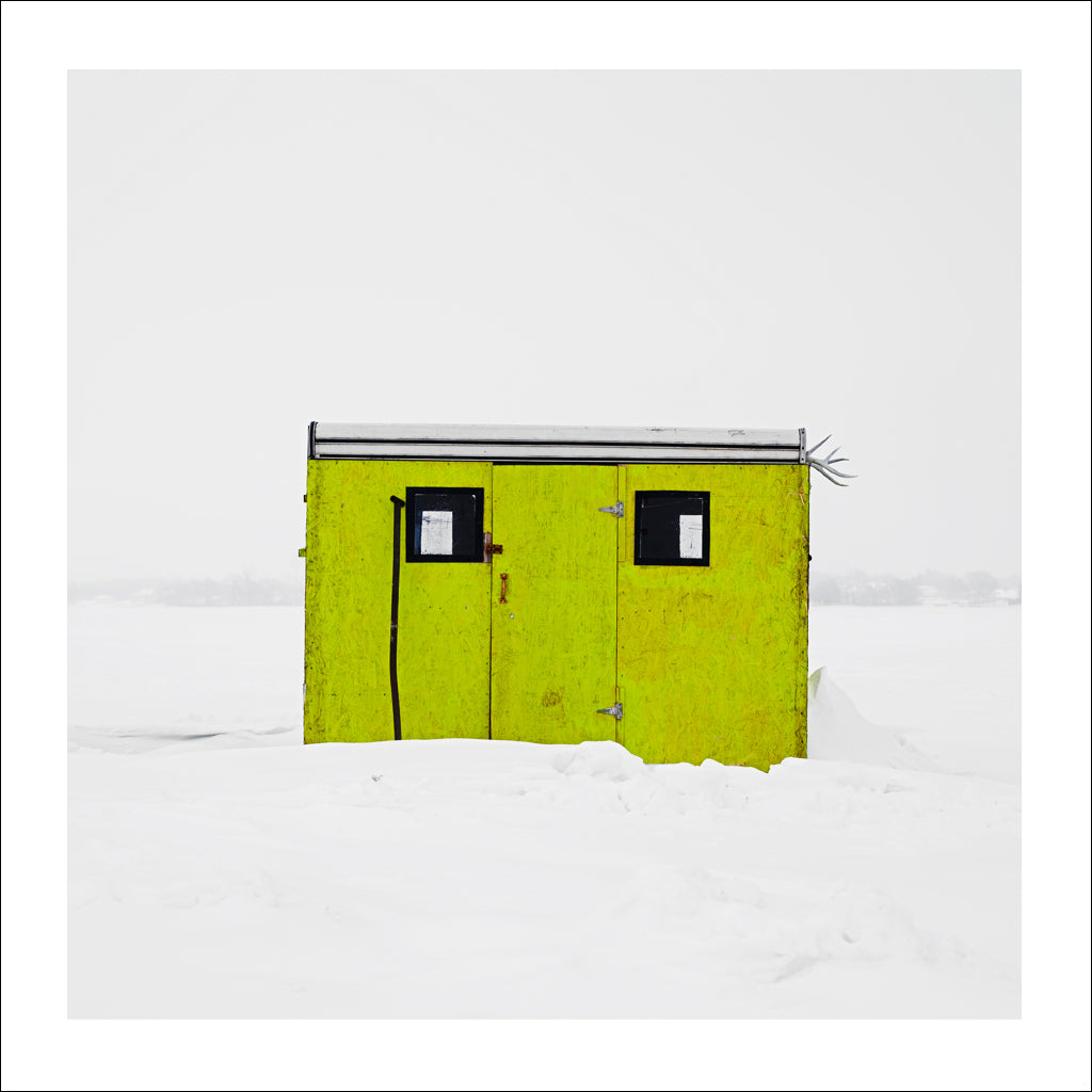 Ice Hut # 731, Belleville, Bay of Quinte, Ontario, Canada, 2015 | © 2007-2016 Richard Johnson Photography Inc. | richardjohnsongallery.com