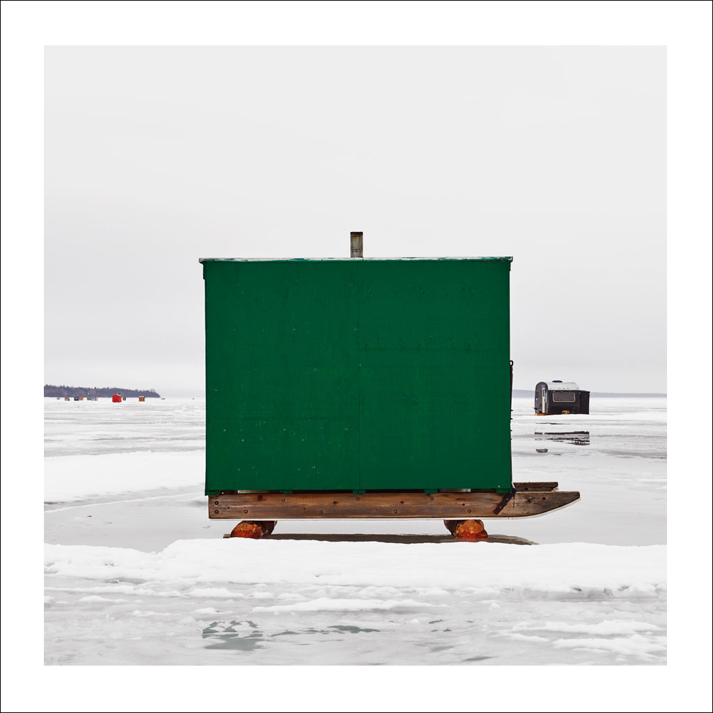 Ice Hut # 990, New Liskeard, Lake Timiskaming, Ontario, Canada, 2017 | © 2007-2017 Richard Johnson Photography Inc. | richardjohnsongallery.com