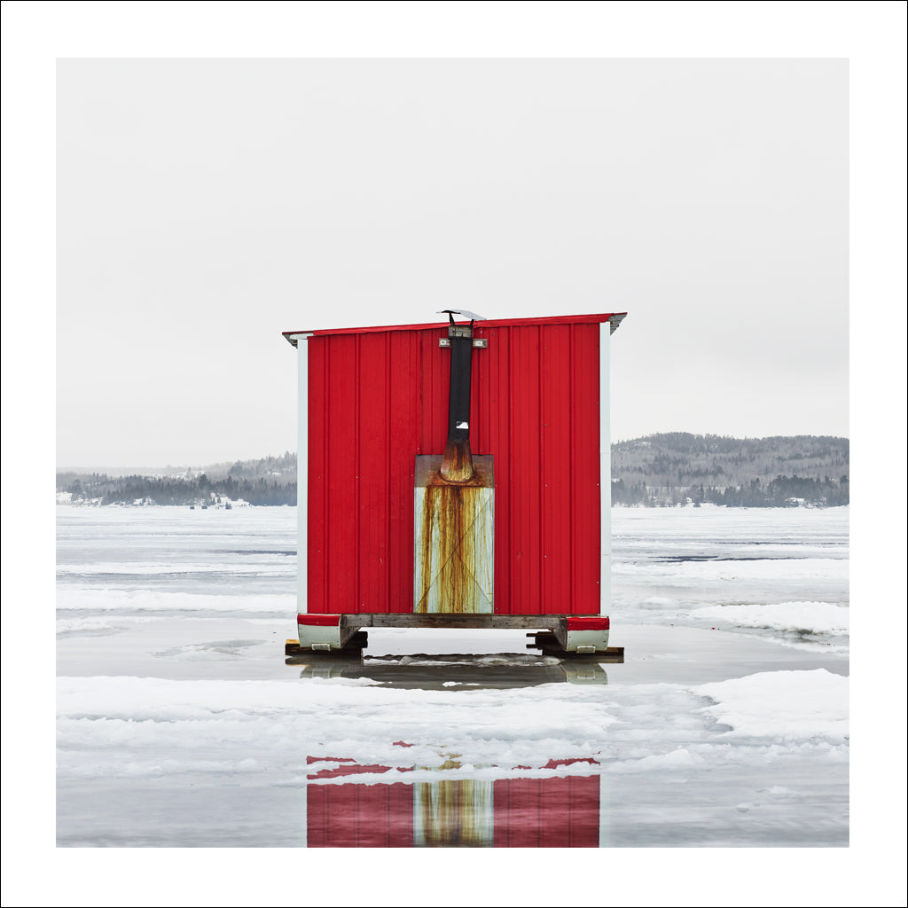 Ice Hut # 992, New Liskeard, Lake Timiskaming, Ontario, Canada, 2017 | © 2007-2017 Richard Johnson Photography Inc. | richardjohnsongallery.com