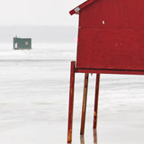 Ice Hut # 998, New Liskeard, Lake Timiskaming, Ontario, Canada, 2017