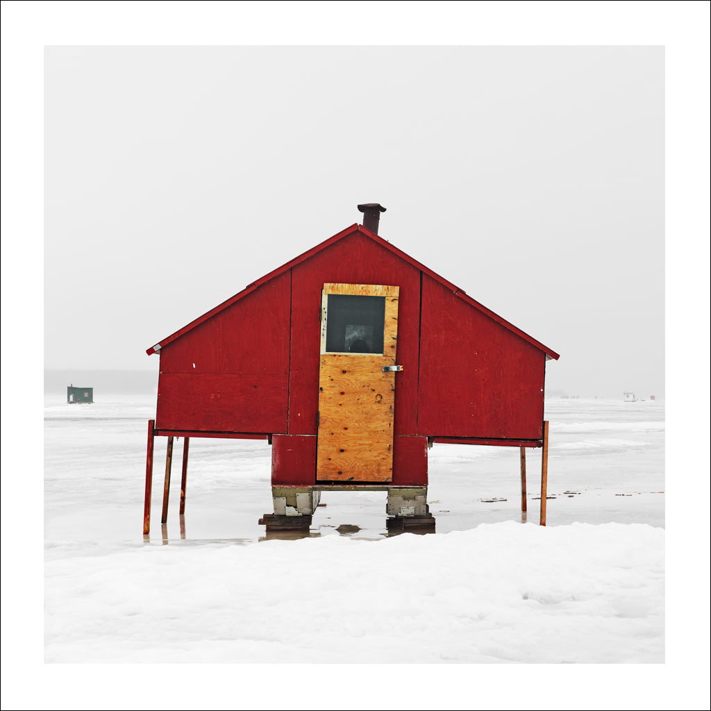 Ice Hut # 998, New Liskeard, Lake Timiskaming, Ontario, Canada, 2017 | © 2007-2017 Richard Johnson Photography Inc. | richardjohnsongallery.com