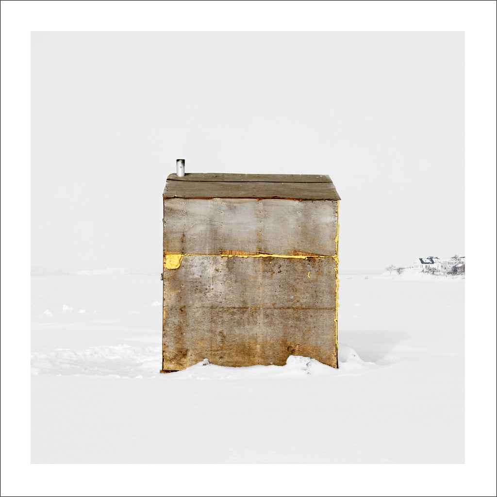 Ice Hut # 115, Stewart Cove, Charlottetown, Prince Edward Island, Canada, 2008 | © 2007-2017 Richard Johnson Photography Inc. | richardjohnsongallery.com