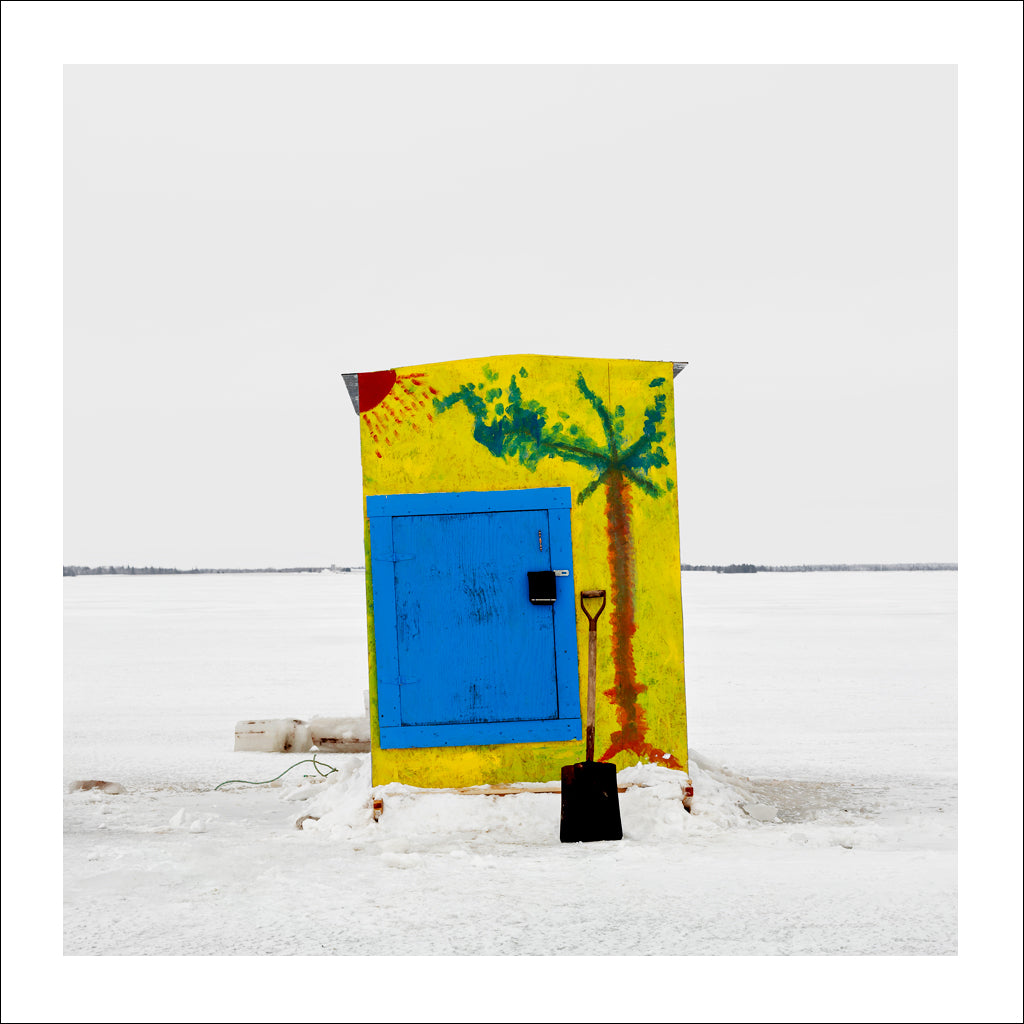 Ice Hut # 196, Bedequay Bay, Summerside, Prince Edward Island, Canada, 2009 | © 2007-2017 Richard Johnson Photography Inc. | richardjohnsongallery.com