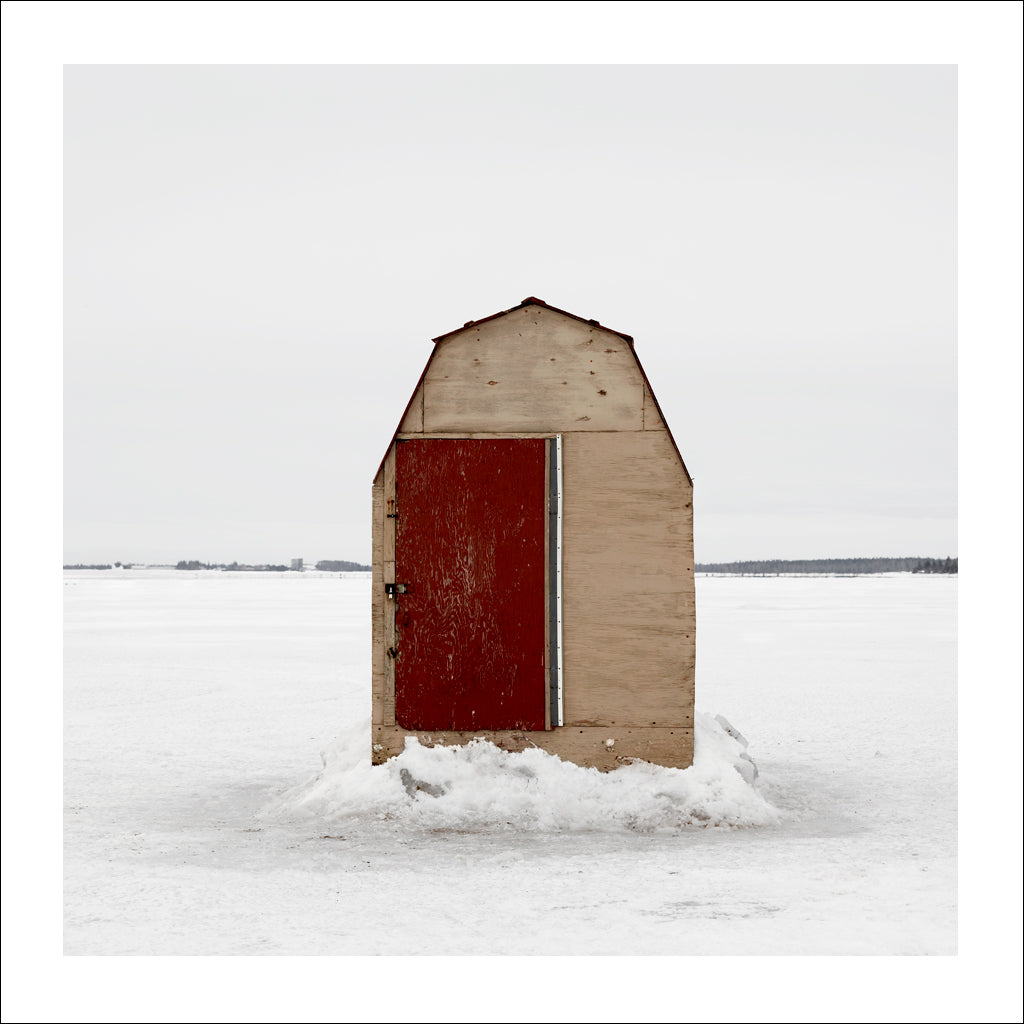 Ice Hut # 197, Bedequay Bay, Summerside, Prince Edward Island, Canada, 2009 | © 2007-2017 Richard Johnson Photography Inc. | richardjohnsongallery.com